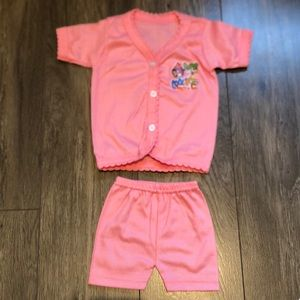 3 for $15 • NWOT salmon pink matching set